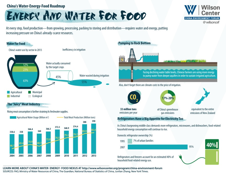 Energy and Water for Food