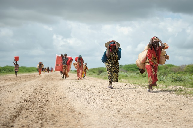 Jowhar flood in Somalia