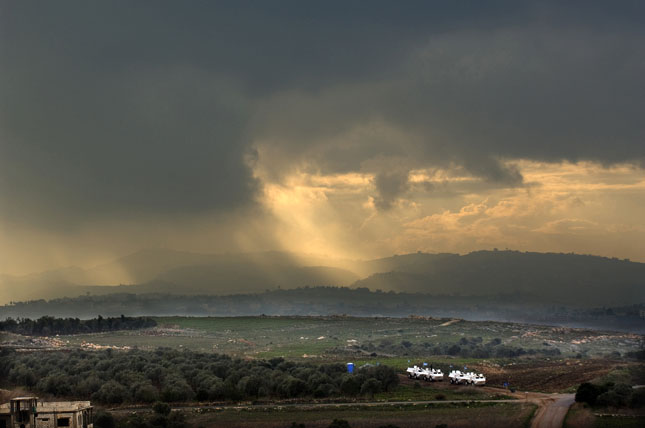 Lebanon storm