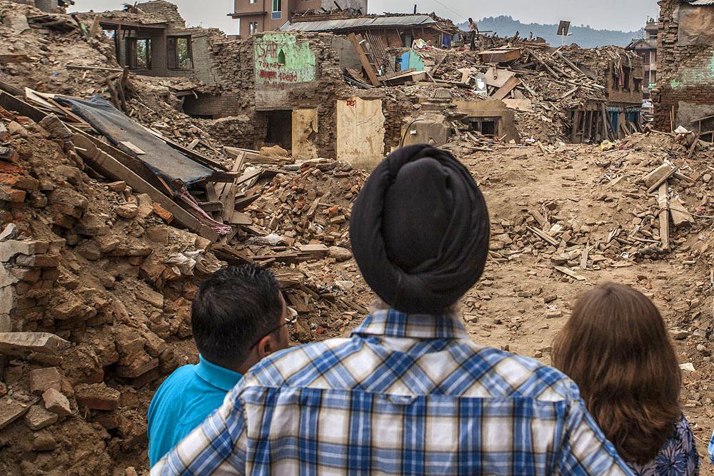 Nepal earthquake damage1