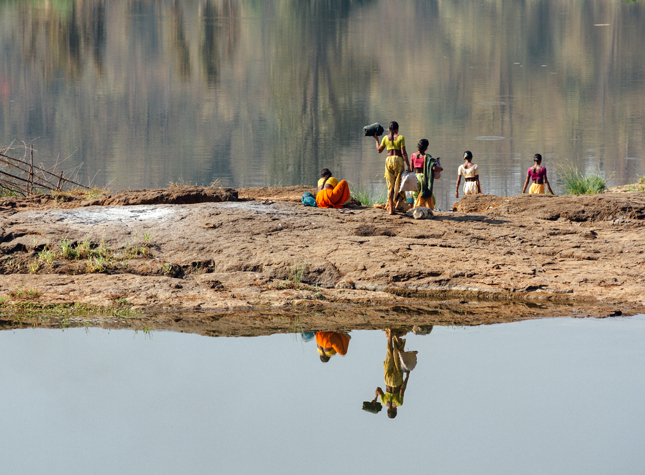India-Reflection